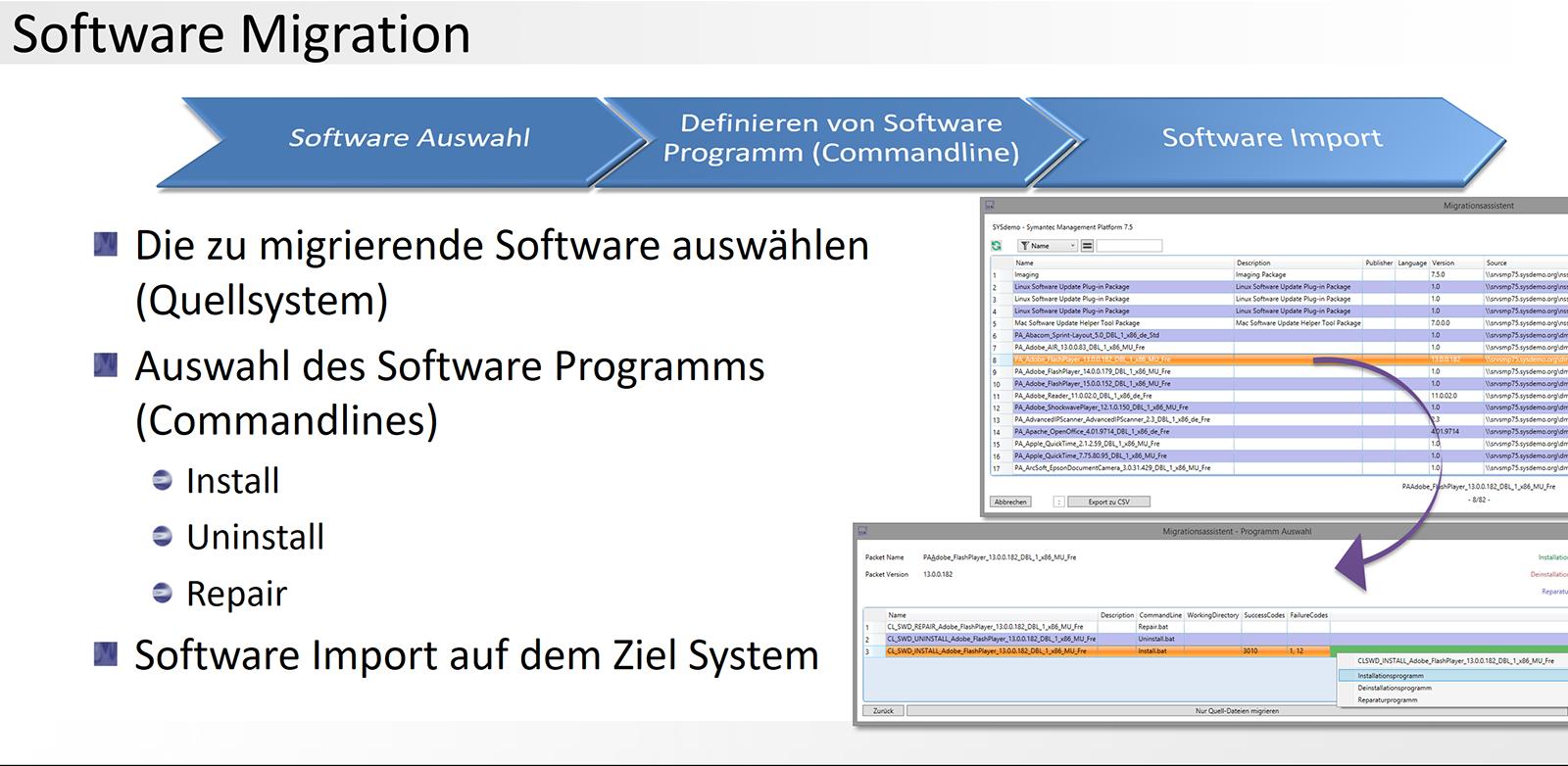 5. DML-Manager - Software Migration